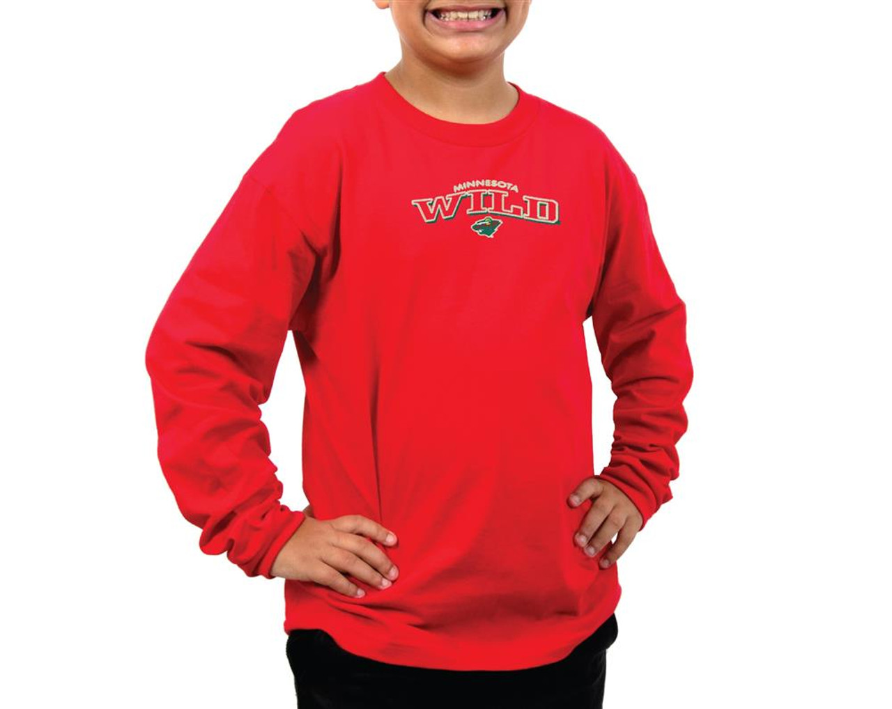 Youth Chicago Blackhawks Long Sleeve Tee