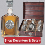 Heritage Pewter Decanters and Bar Ware Ship Free, Same Day!