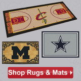 Decorative Rugs and Door Mats Ship Free