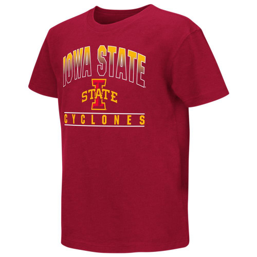 Iowa State Cyclones Youth Golden Boy Short Sleeve Tee