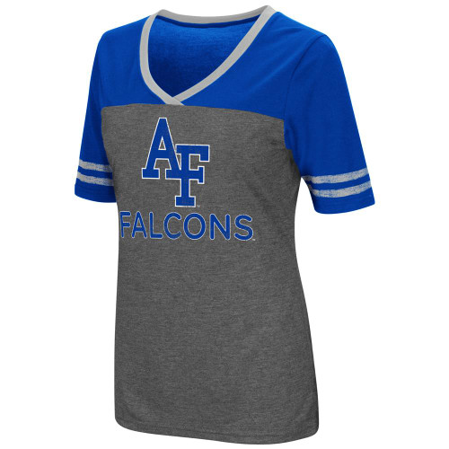 Ladies Colosseum Mctwist Air Force Academy Falcons Jersey T Shirt