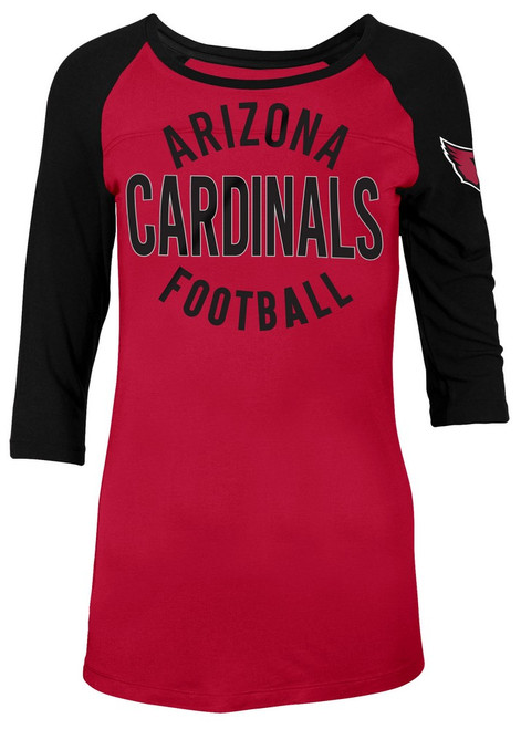Arizona Cardinals Raglan Shirt Women's Graphic T-Shirt