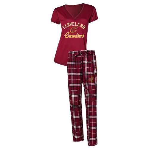 Cleveland Cavaliers Women's Pajama Set Duo Sleep Set