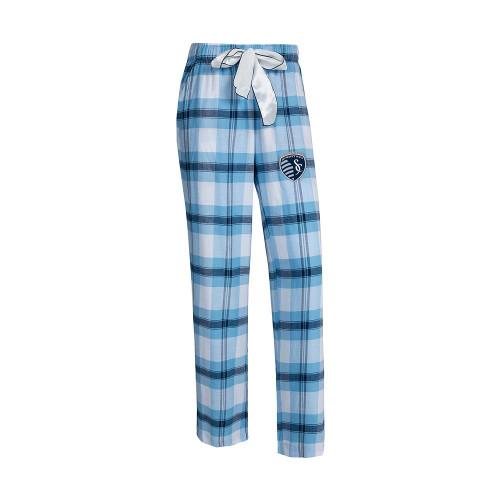 Sporting Kansas City Women's Flannel Pajamas Plaid PJ Bottoms