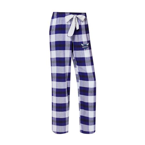 Charlotte Hornets Women's Flannel Pajamas Plaid PJ Bottoms