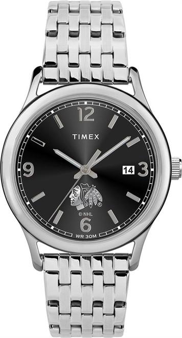 Women's Chicago Blackhawks Watch Timex Sage Stainless Watch