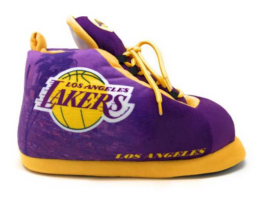 36ad421c45d1 Los Angeles LA Lakers Slippers Plush Sneaker Slipper Sleakers