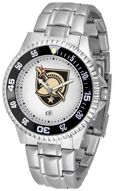 Men's Army Black Knights Watch Competitor Stainless Steel