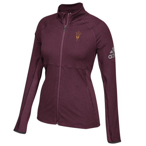 Arizona State University Adidas Ladies Full-Zip Performer Jacket
