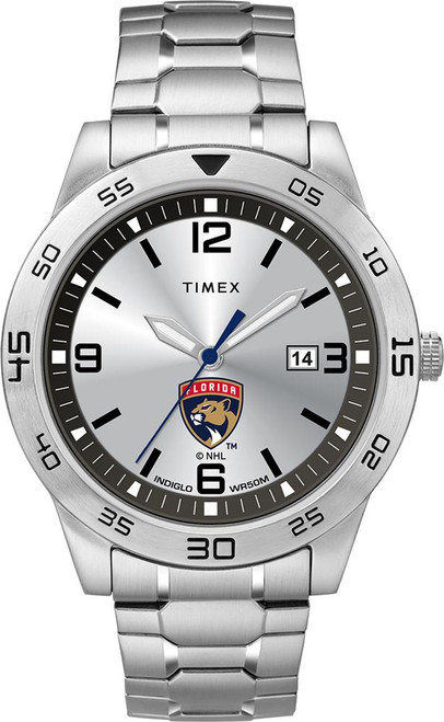 Men's Florida Panthers Watch Timex Citation Steel Watch