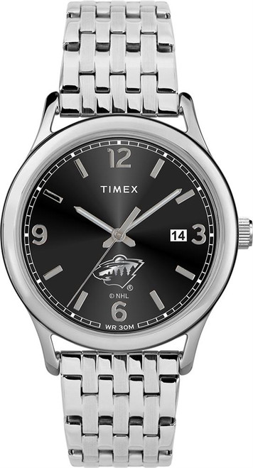 Women's Minnesota Wild Watch Timex Sage Stainless Watch