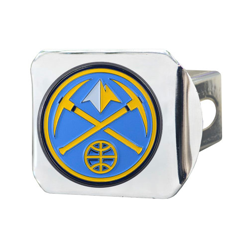 Denver Nuggets Trailer Hitch Chrome Hitch Cover