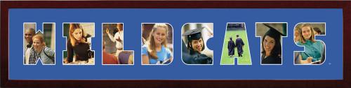 "Kentucky Wildcats UK Collage Frame 8""h x 26""w Spirit Frame"