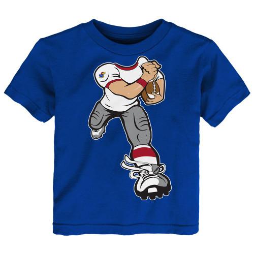 Toddler Kansas Jayhawks KU Tee Yard Rush Toddler T-Shirt