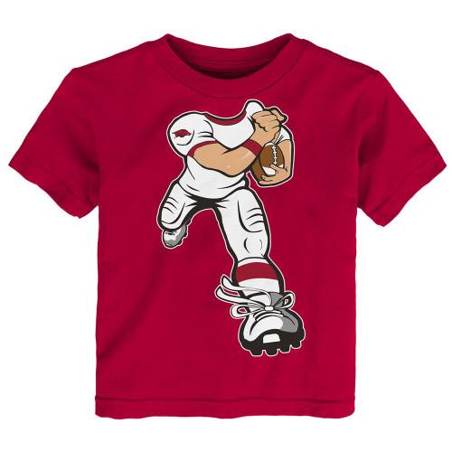 Toddler Arkansas Razorback Tee Yard Rush Toddler T-Shirt