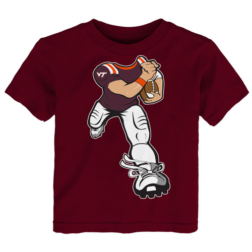 Toddler Virginia Tech VT Hokies Tee Yard Rush Toddler T-Shirt