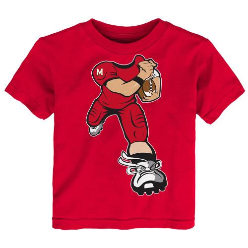Toddler University of Maryland Terps Tee Yard Rush Toddler T-Shirt