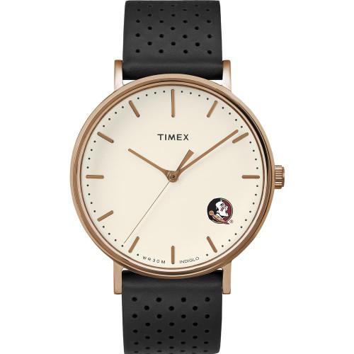 Ladies Timex FSU Florida State University Watch Rose Gold Grace Watch