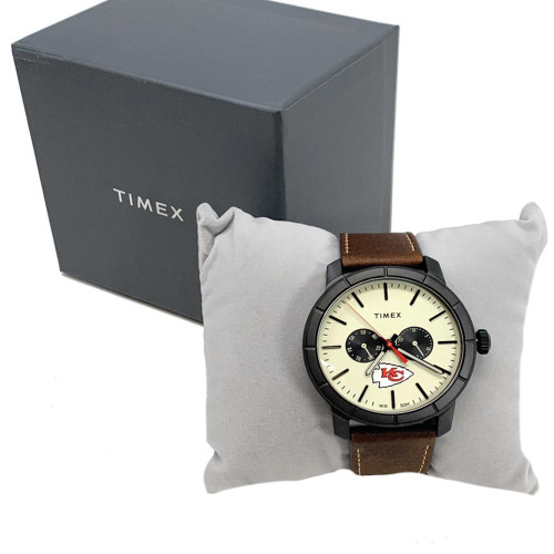 Men's Florida Panthers Timex Watch Home Team Leather Watch