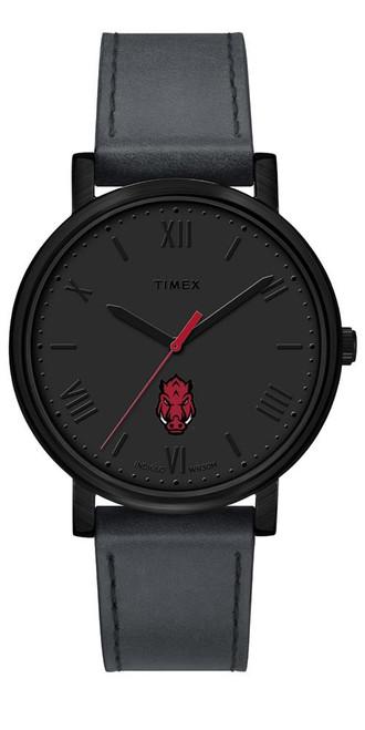 Ladies Timex Arkansas Razorback Watch Black Night Game Watch