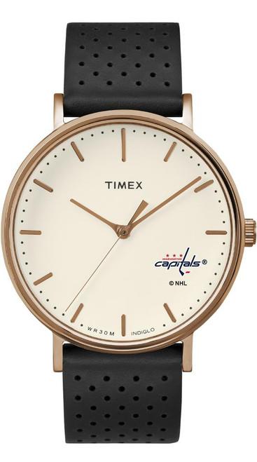 Ladies Timex Washington Capitals Watch Rose Gold Grace Watch
