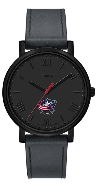 Ladies Timex Columbus Blue Jackets Watch Black Night Game Watch