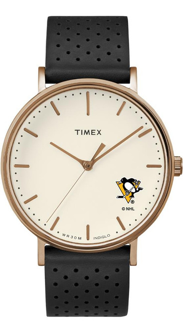 Ladies Timex Pittsburgh Penguins Watch Rose Gold Grace Watch