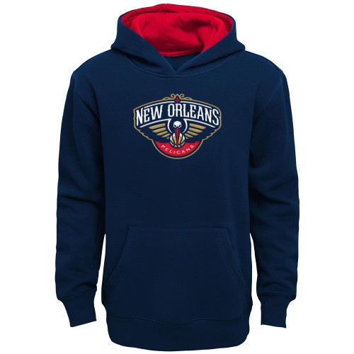 Youth New Orleans Pelicans Hoodie Prime Pullover Fleece Hood