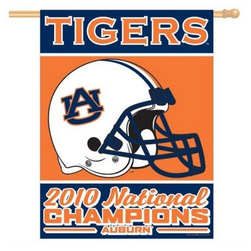 Auburn University Tigers Vertical Outdoor House Flag
