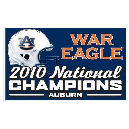 Auburn University Tigers 3 x 5 Sports House Flag