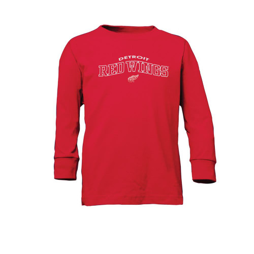 Youth Detroit Red Wings Long Sleeve Tee