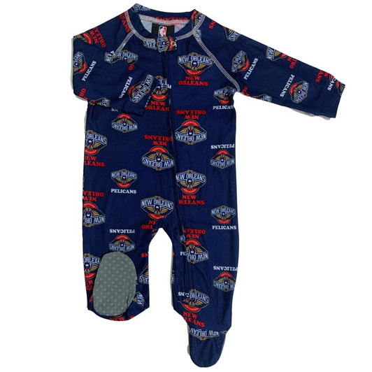 3-6 M OuterStuff Infant//Toddler Houston Rockets Coverall Zip Up Sleeper