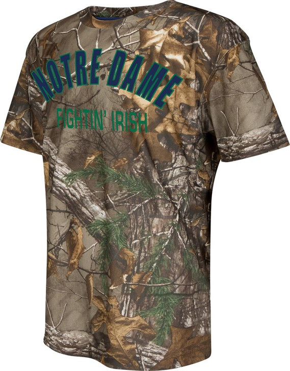 Youth Athletic Realtree Notre Dame Fighting Irish Trail T-Shirt