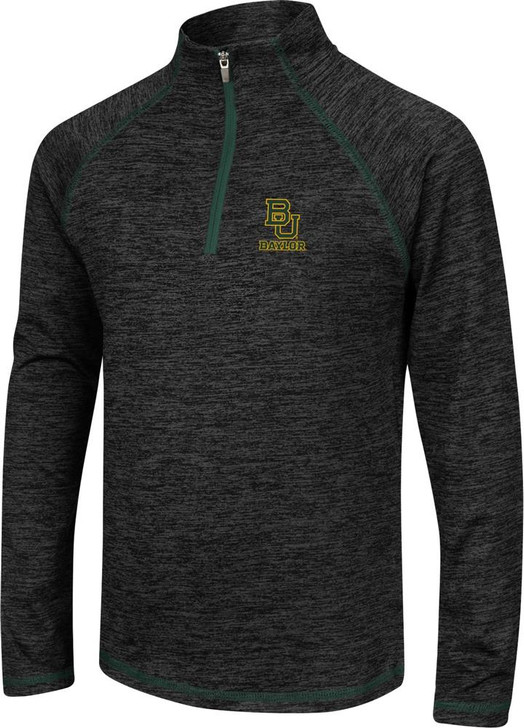 Girls Quarter Zip Baylor University Bears Long Sleeve Windshirt