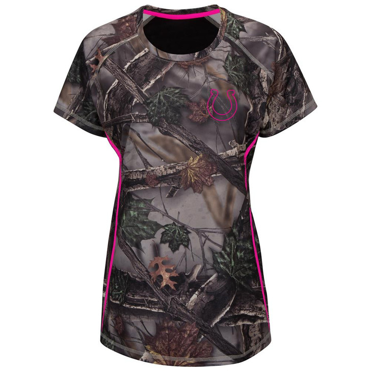 Majestic Women's The Woods Indianapolis Colts Camo Tee