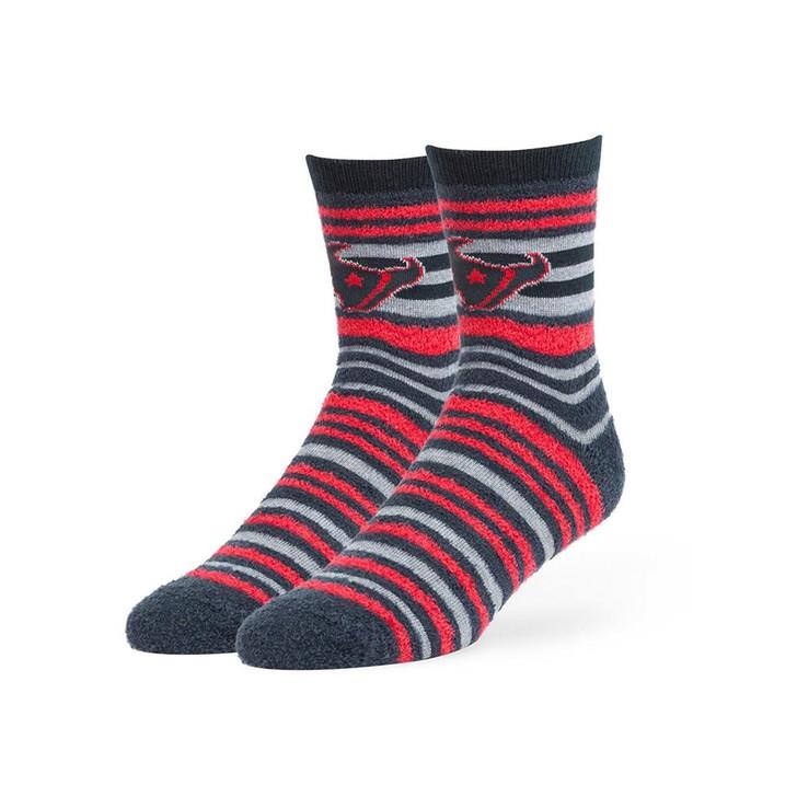 Houston Texans Socks Shiloh Chenille Half Crew