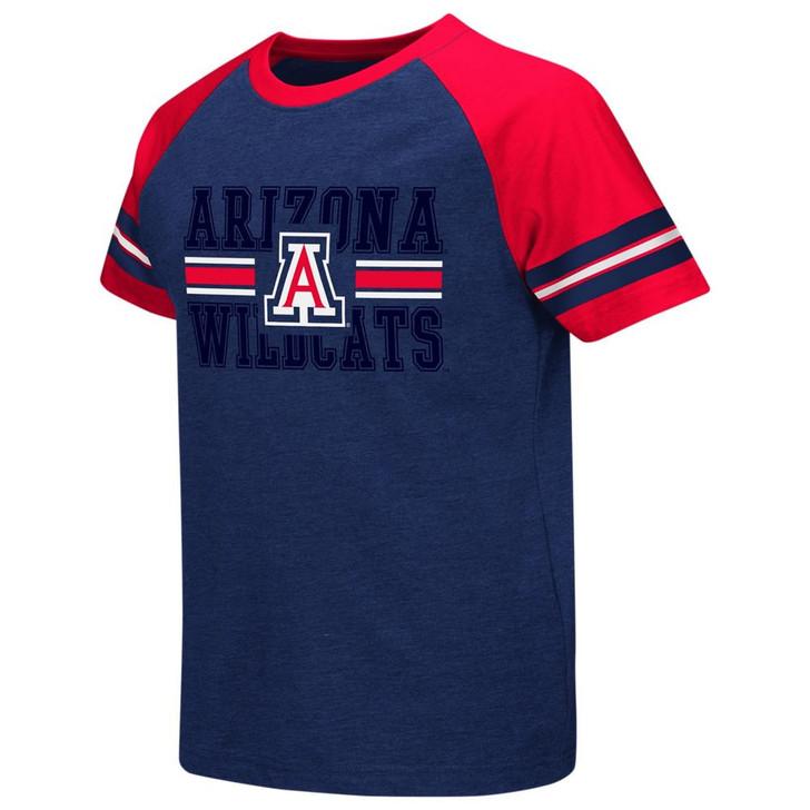 Arizona Wildcats Youth Houseman Raglan Short Sleeve Tee