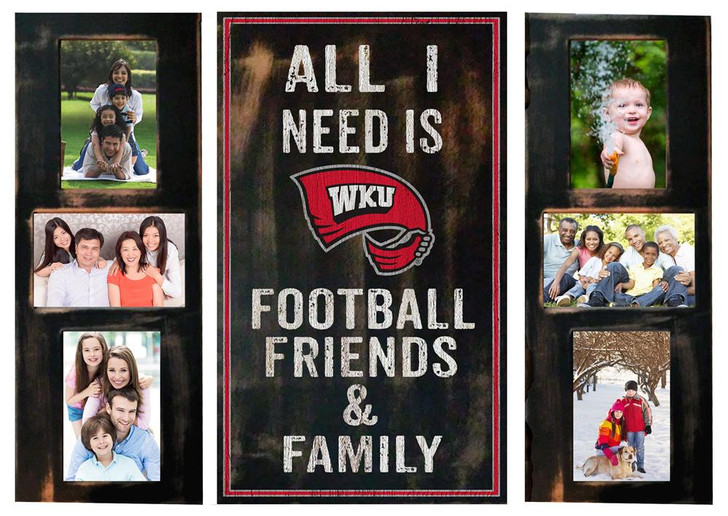 Western Kentucky University Picture Frame Set All I Need 3pc Picture Collage