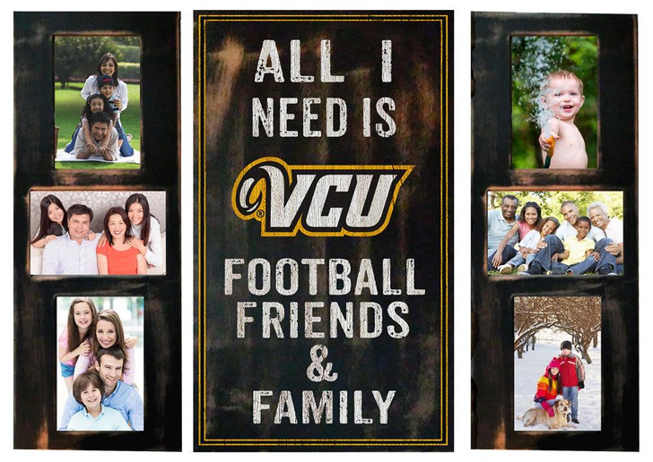 Virginia Commonwealth Rams Picture Frame Set All I Need 3pc Picture Collage