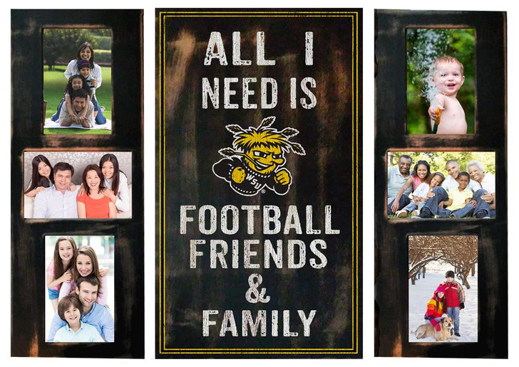 Wichita State Shockers Picture Frame Set All I Need 3pc Picture Collage