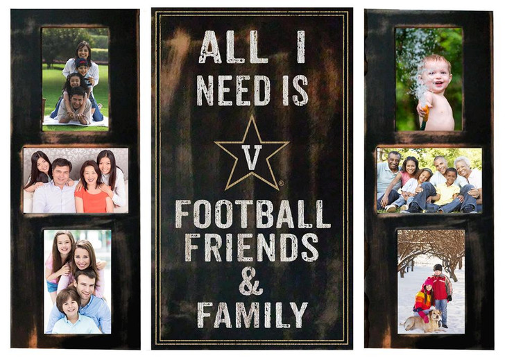 Vanderbilt University Vandy Picture Frame Set All I Need 3pc Picture Collage