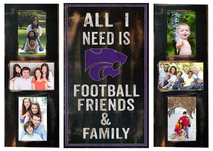 Kansas State University Picture Frame Set All I Need 3pc Picture Collage