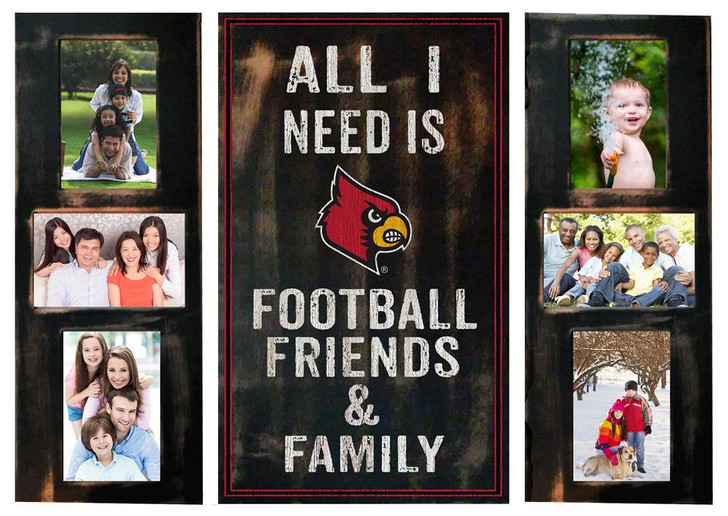 Louisville Cardinals Picture Frame Set All I Need 3pc Picture Collage