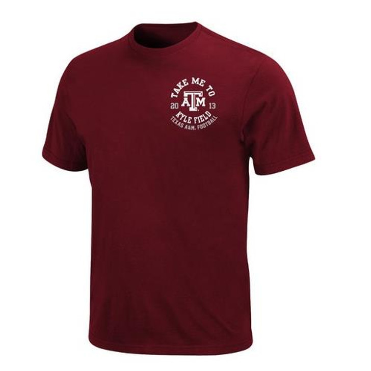 Texas A&M Aggies Men's Schedule Tee 2013 Stadium Shirt