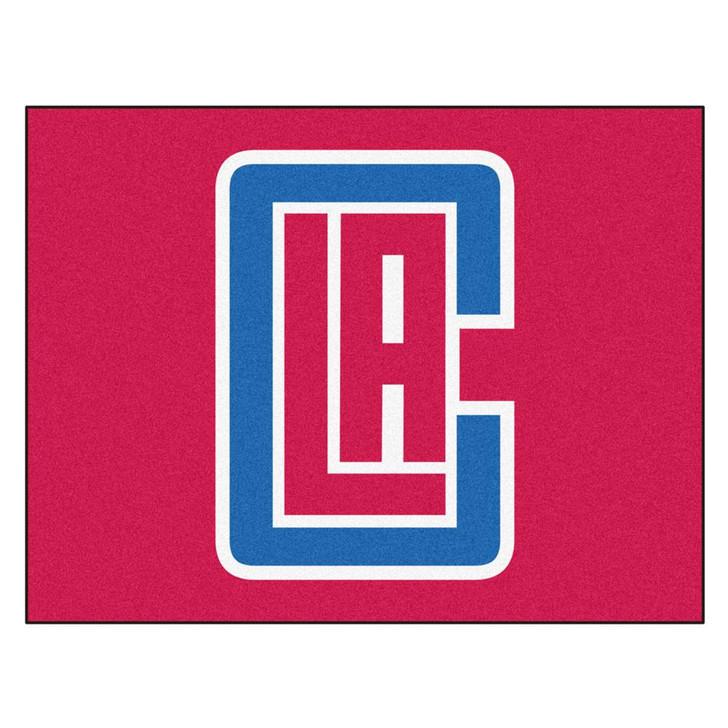 Los Angeles Clippers LA Doormat Carpet Area Rug