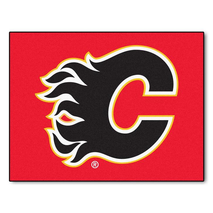 Calgary Flames Doormat Carpet Area Rug