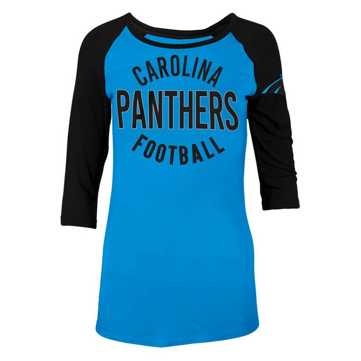 Carolina Panthers Raglan Shirt Women's Graphic T-Shirt