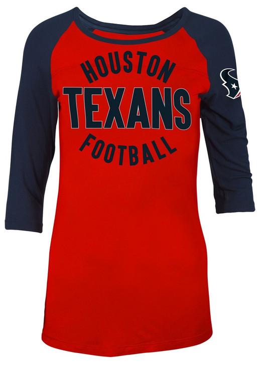 Houston Texans Raglan Shirt Women's Graphic T-Shirt