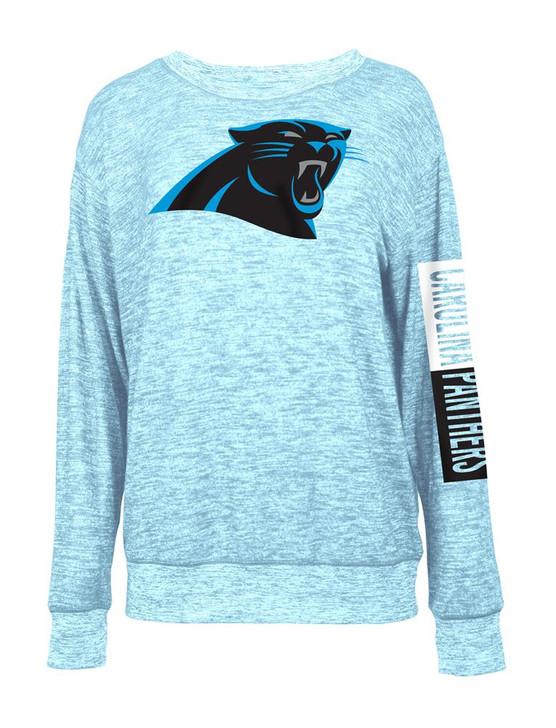 Carolina Panthers Sweater Women's Knit Pullover