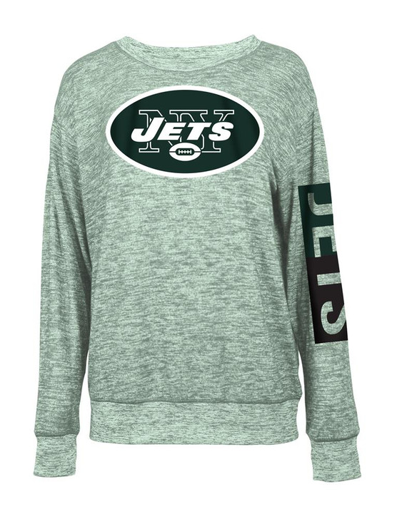 New York Jets NY Sweater Women's Knit Pullover